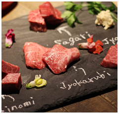 Premium assortment of 5types of beef portion
